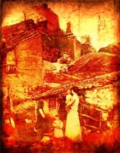 Tα  Βουρλά μας καίγονται....Αυγουστος 1922.