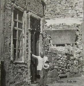Το σπίτι της οικ.Τενεκίδη,στη Σκάλα.