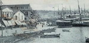 Σμύρνη, το γνωστό Quai,το Μάιο 1907.