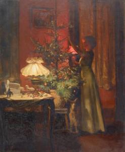 Χριστουγενιατικο δεντρο στα Βουρλα